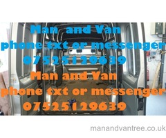 BOLTON VAN MAN in and around bolton area call for a free quote
