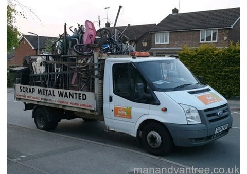 Free scrap metal collection, garden and waste clearances, car recovery