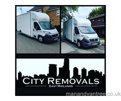 House removals Nottingham Man with van hire Man with van services National & International