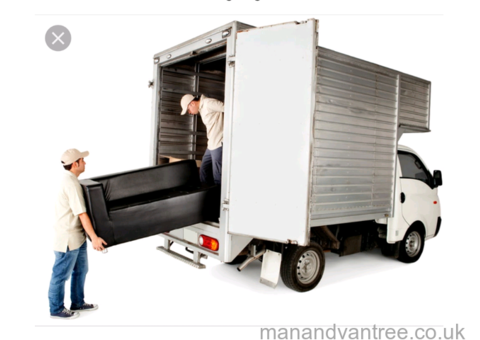 AAdam Removals, Man with a BIG VAN!