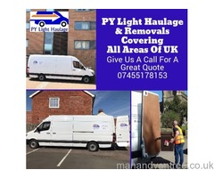 PY Light Haulage & Removals Man With a Van Service