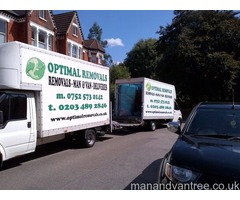 Polish Man and van Professional Removal Service Fulham London