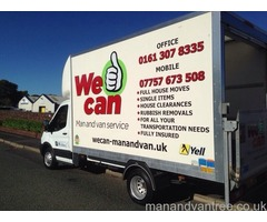 Man and Van, Jobs from £20, House Clearance, Reliable Removal Services
