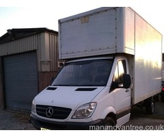 Removals: 2 man Full house removals and clearances large clean van
