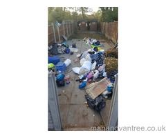 Rubbish removal house shed office garden clearances
