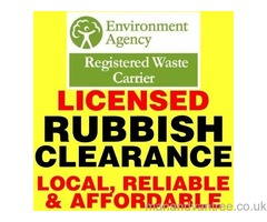Bin bag, rubbish, rubble, soil, asbestos, house OR ANY waste clearance in Portsmouth