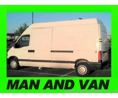 MAN + VAN - £29P/H or £39P/H for 2 men. 1 hour minimum hire