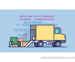 Man and Van House Office Moving Rubbish Removals Furniture Delivery