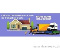 Modern Movers   Home & Office Removal Company   Luton Van   7.5T Truck Best Price Guaranteed
