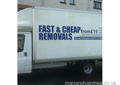Man with van 3 men team price from £15 very cheap quotes