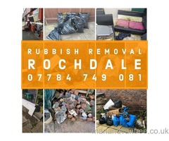 ROCHDALE MAN & VAN RUBBISH WASTE REMOVAL SERVICE, HOUSE, OFFICE, GARDEN, GARAGE