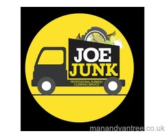 Joe Junk Rubbish removal Glasgow - Home, Office, Garden clearances Builders, trade waste welcomed