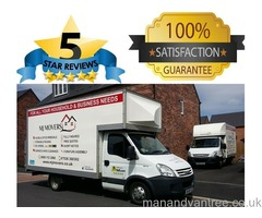 Ilkeston House Removals & Man with a Van, NO DEPOSIT to pay