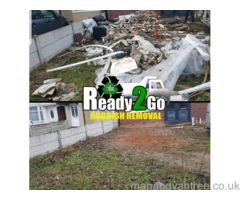 READY2GO RUBBISH  ALL AREAS WASTE SKIPS BIN BAGS SHEDS GARDEN