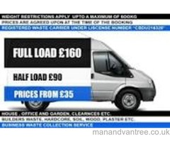 Man & Van Rubbish and waste removal service House, office and garden clearances