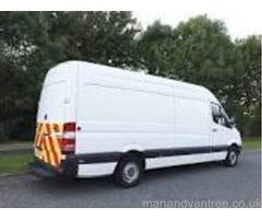 Urgent Man and Van ASAP Now Manchester & Nationwide Van + Driver Hire