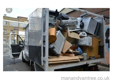 Rubbish and waste clearances house garden office skip removals man and van services 7 days a week