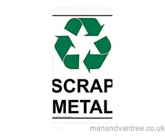 FREE SCRAP METAL COLLECTION House removals man and van