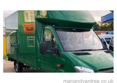 Man van hire delivery removal cheap 24/7 Rugby Southam Luton