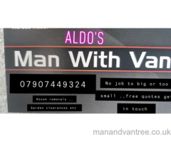 Man with van removals Coatbridge