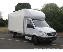 Man and van Sheffield 1st class removal service