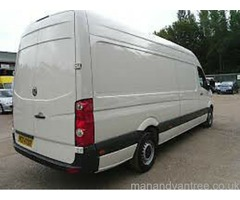 MAN & BIG VAN LOW COST RELIABLE Removals Clearances Courier Waste