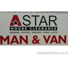 MAN & VAN £30 PH MINIMUM 2-HOUR CHARGE​
