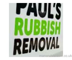 Paul's rubbish removals Manchester