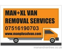 Man with van, House removals and Clearances Sheffield