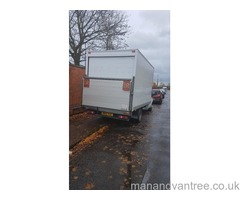 MAN AND VAN NOTTINGHAM PROVIDE HIGH QUALITY AND RELIABLE REMOVALS SERVICE