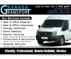Man & Van Removal and Clearance Service. Home & office, from single items to full house
