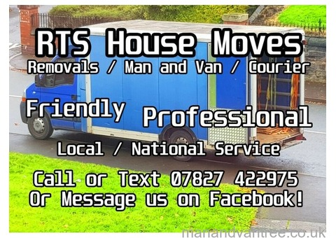 RTS House Moves / Man and Van / Courier