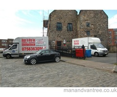 Helping you on your way MAN AND VAN - REMOVALS - HOUSE MOVES - COURIER - VAN