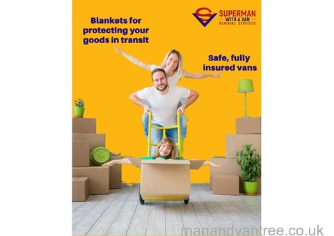 Super Man and Van Fulham Office and House Removals