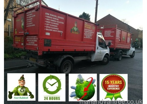 ALL LONDON-RUBBISH REMOVAL,WASTE CLEARANCE,HOUSE COLLECTION