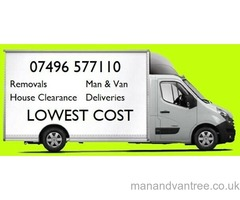 Removals House, flat, office, Man & Van, International