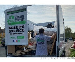CHEAP RUBBISH REMOVAL NORTH WEST LONDON - CHEAPER THAN A SKIP - NO PERMITS NEEDED