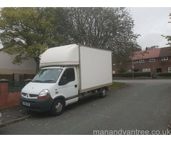 Man and van services in Tameside and Glossop house moves part loads single items
