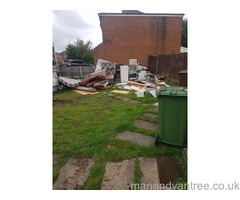 Rubbish removal house garage garden and shed clearances
