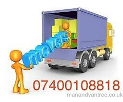 URGENT LOCAL NATIONWIDE QUICK MAN&LUTON CHEAP VAN HIRE HOUSE OFFICE REMOVALS