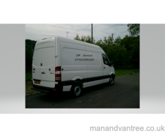 Man and Van in Halifax, West Yorkshire, MWB van, local and national