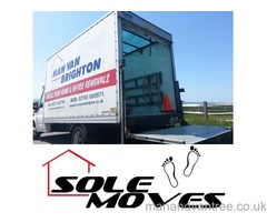 Man and van Brighton large Luton van with tail lift call for for free quote