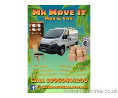 Mr Move It - Man and Van in Mablethorpe and the Surrounding Areas Catering for Full Loads or Single