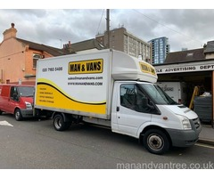 Removals & Storage | Man and Van services from £30 | Call us now a free quote
