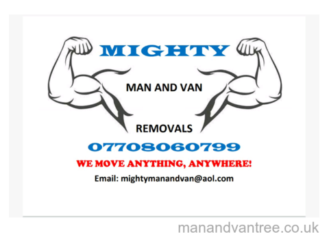 Removals Man and Luton Van £35 per hour