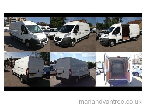 24-7 Man and Van House Moving Piano Delivery Hire Removal LONG WHEEL BASE Van
