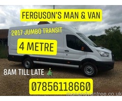 Man & Van Budget FROM £10 Removal Single items House clearance sofa moves furniture