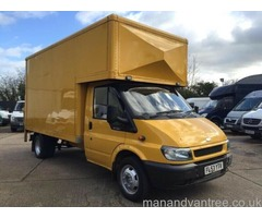 MAN AND VAN REMOVALS SERVICES FURNITURE/HOUSE AND OFFICE