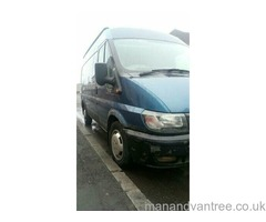 Man and van services, available 7 days a week