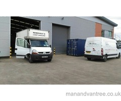 Advanced Man and van services, available 7 days a week